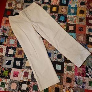 Banana Republic Martin Linen Tailored Trouser Pants